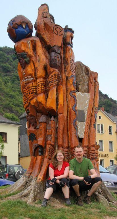 Sonja und Olli bei einer ihrer Touren